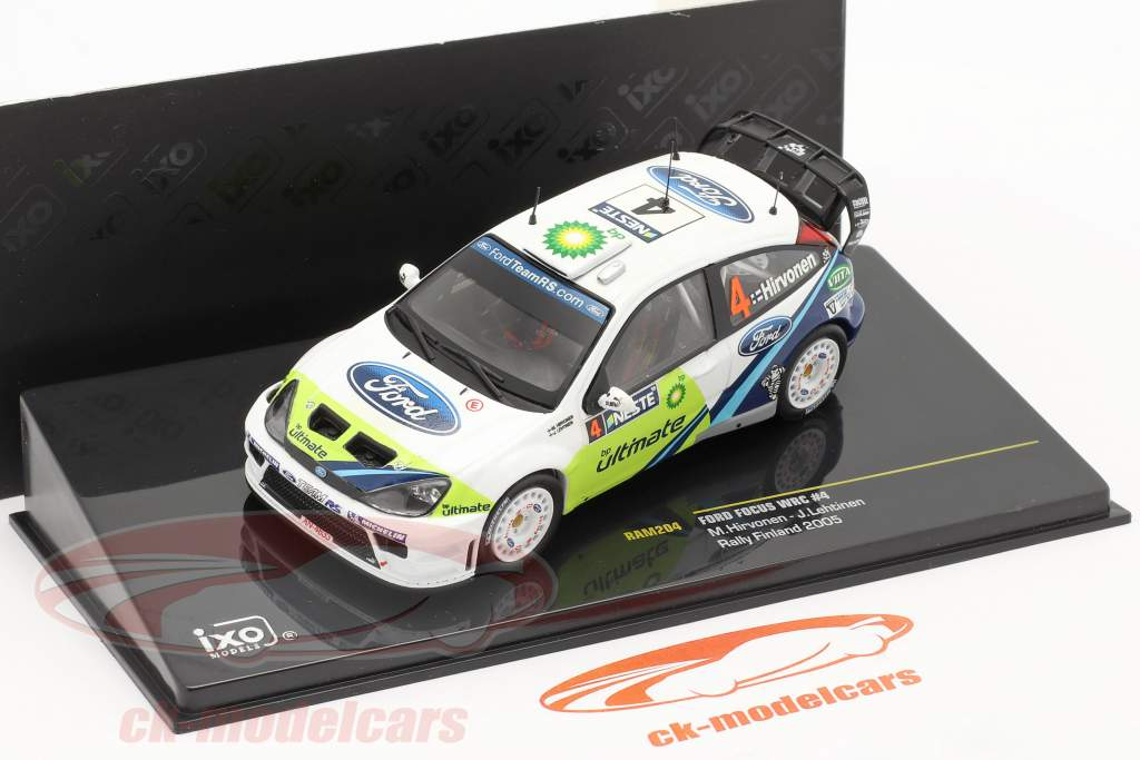 #4 Ford Focus WRC Rally Finland 2005 1:43 Ixo