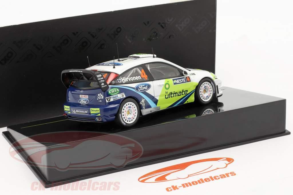 º 4 Ford Focus WRC Rally Finland 2005 1:43 Ixo