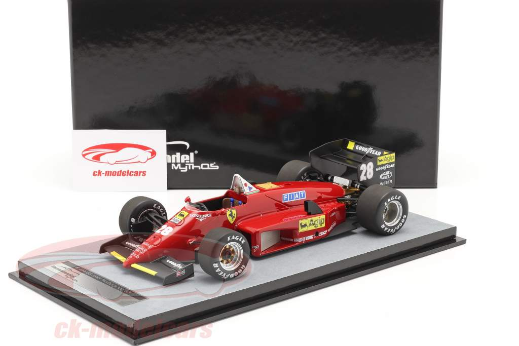 S. Johansson Ferrari 156/85 #28 tysk GP formel 1 1985 1:18 Tecnomodel
