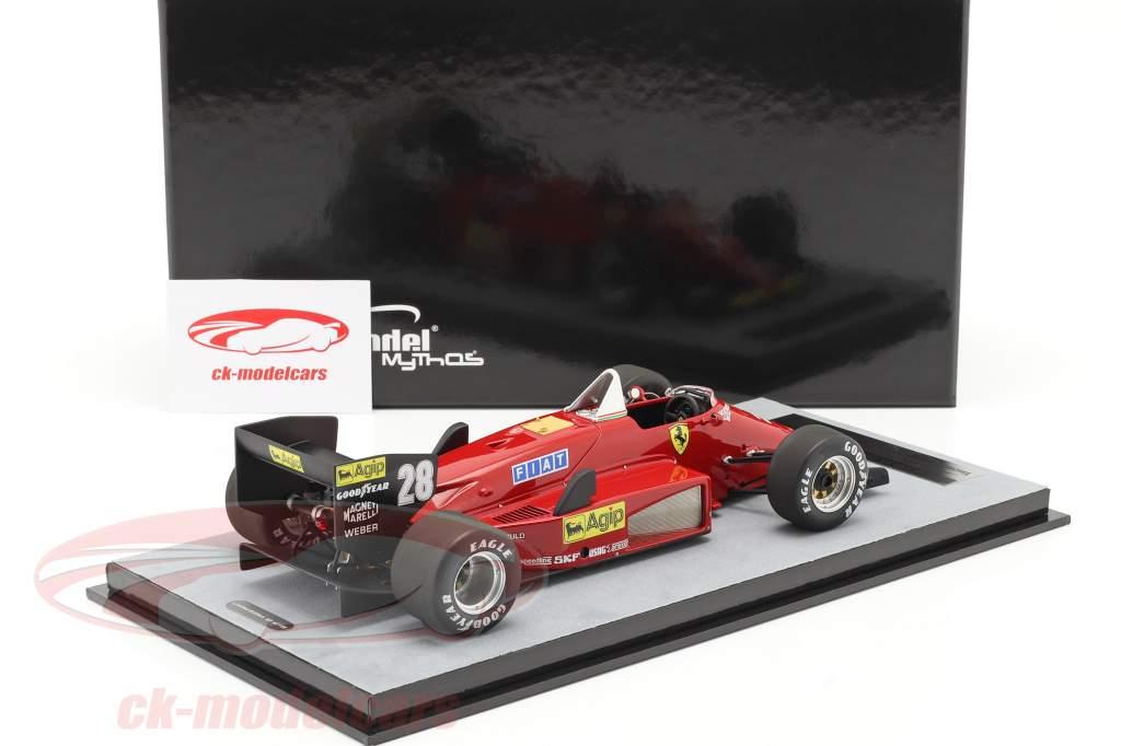 S. Johansson Ferrari 156/85 #28 Allemand GP formule 1 1985 1:18 Tecnomodel
