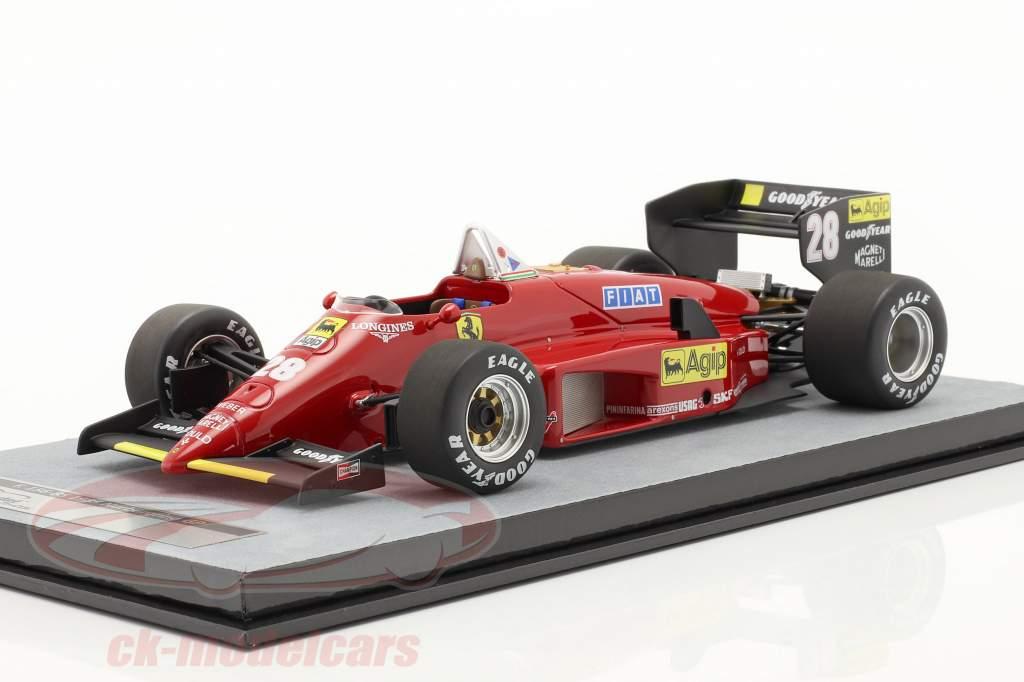 S. Johansson Ferrari 156/85 #28 Tedesco GP formula 1 1985 1:18 Tecnomodel