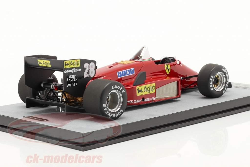 S. Johansson Ferrari 156/85 #28 Deutschland GP Formel 1 1985 1:18 Tecnomodel
