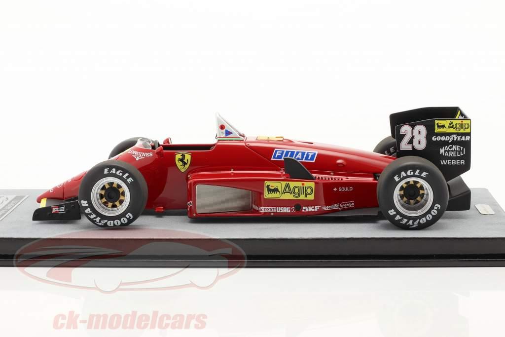 S. Johansson Ferrari 156/85 #28 Duitse GP formule 1 1985 1:18 Tecnomodel