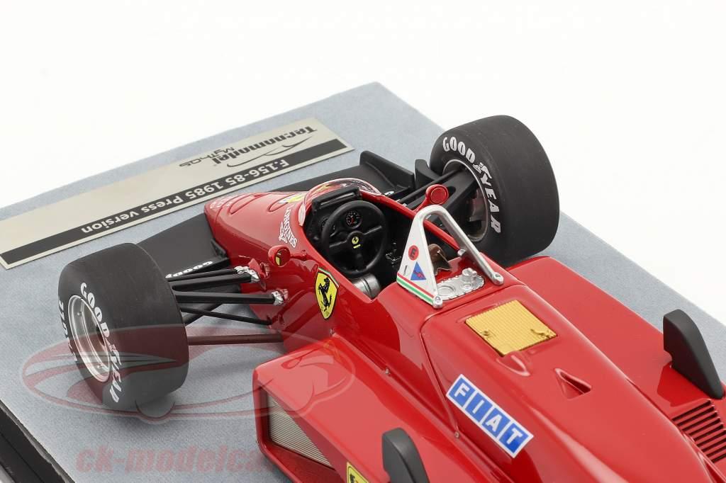 Michele Alboreto Ferrari 156/85 Press version formula 1 1985 1:18 Tecnomodel