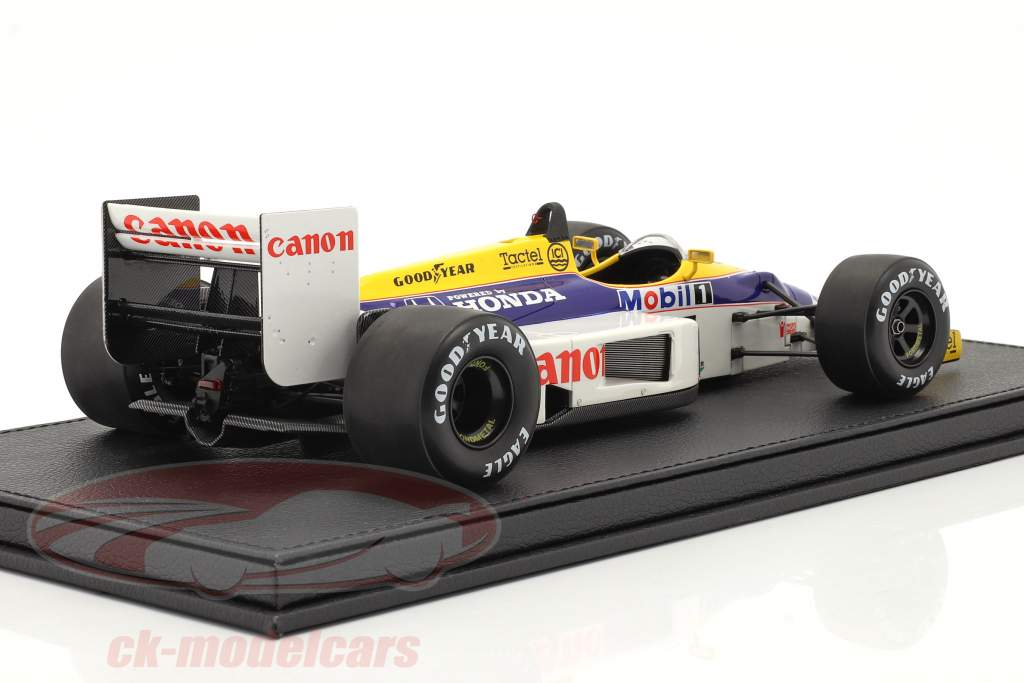 Nigel Mansell Williams FW11 #5 formule 1 1986 Met Showcase 1:18 GP Replicas
