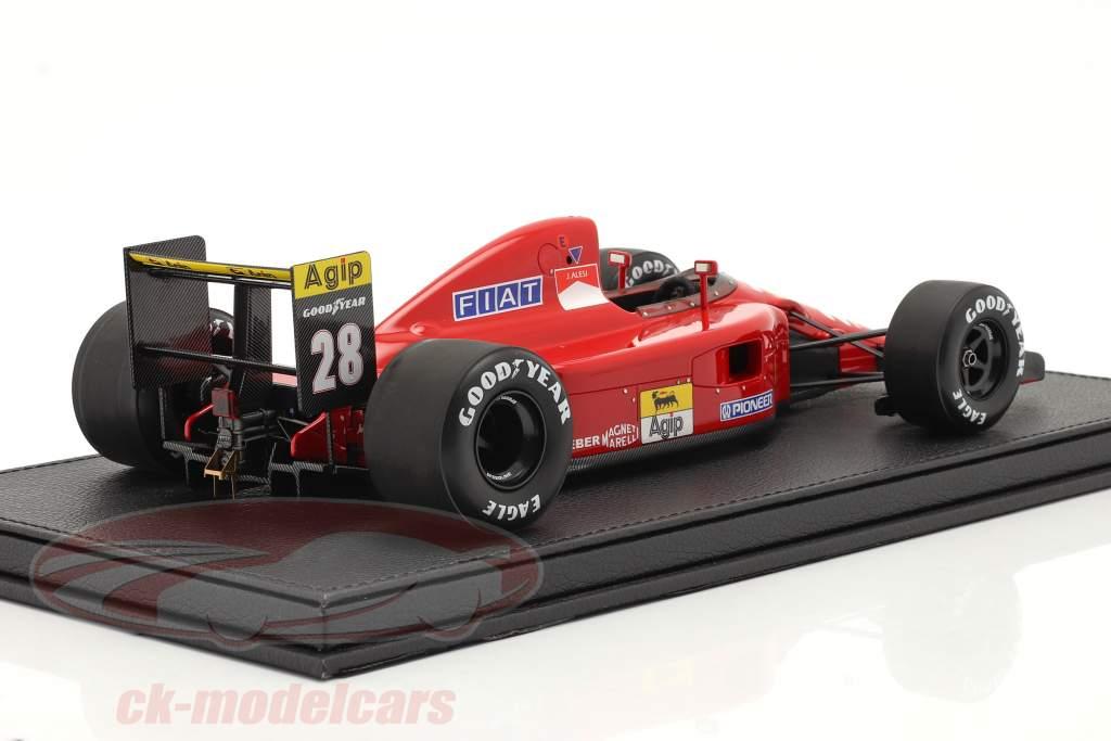 Jean Alesi Ferrari 642 #28 Formel 1 1991 mit Vitrine 1:18 GP Replicas