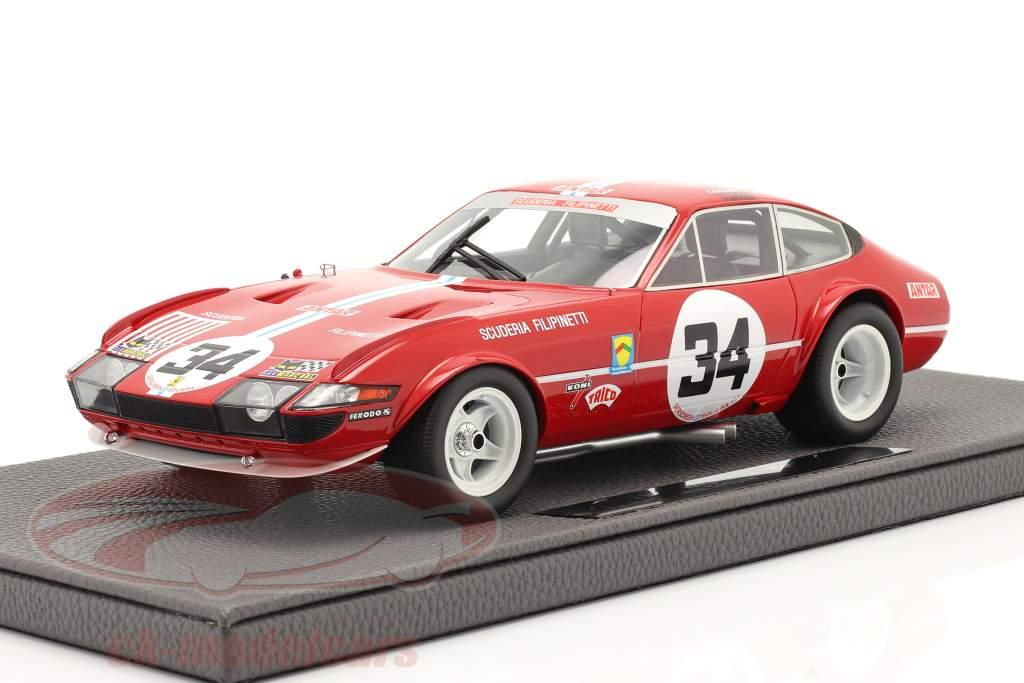 Ferrari 365 GTB/4 Daytona #34 7e 24h LeMans 1972 1:18 TopMarques