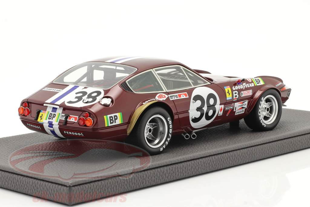 Ferrari 365 GTB/4 Daytona #38 9º 24h LeMans 1972 1:18 TopMarques
