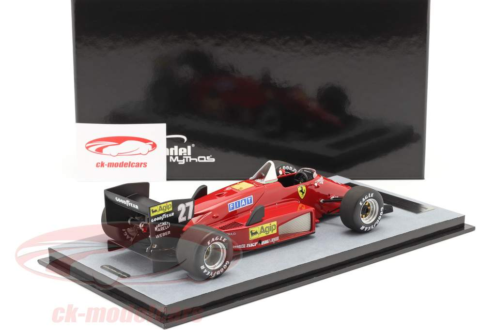 M. Alboreto Ferrari 156/85 #27 ganador canadiense GP fórmula 1 1985 1:18 Tecnomodel
