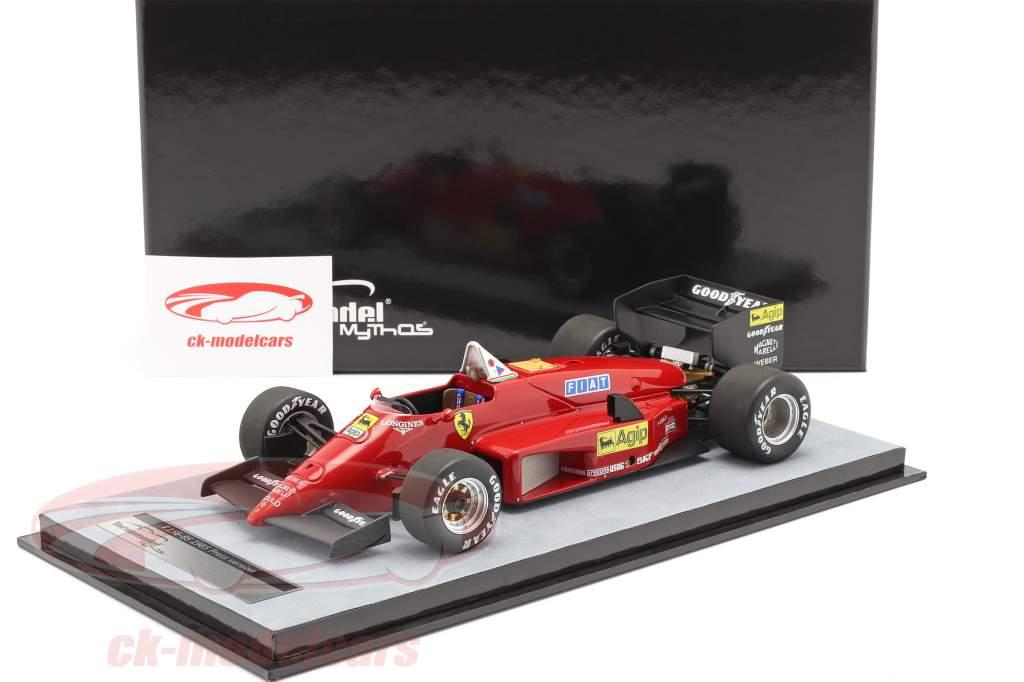 Michele Alboreto Ferrari 156/85 stampa versione formula 1 1985 1:18 Tecnomodel