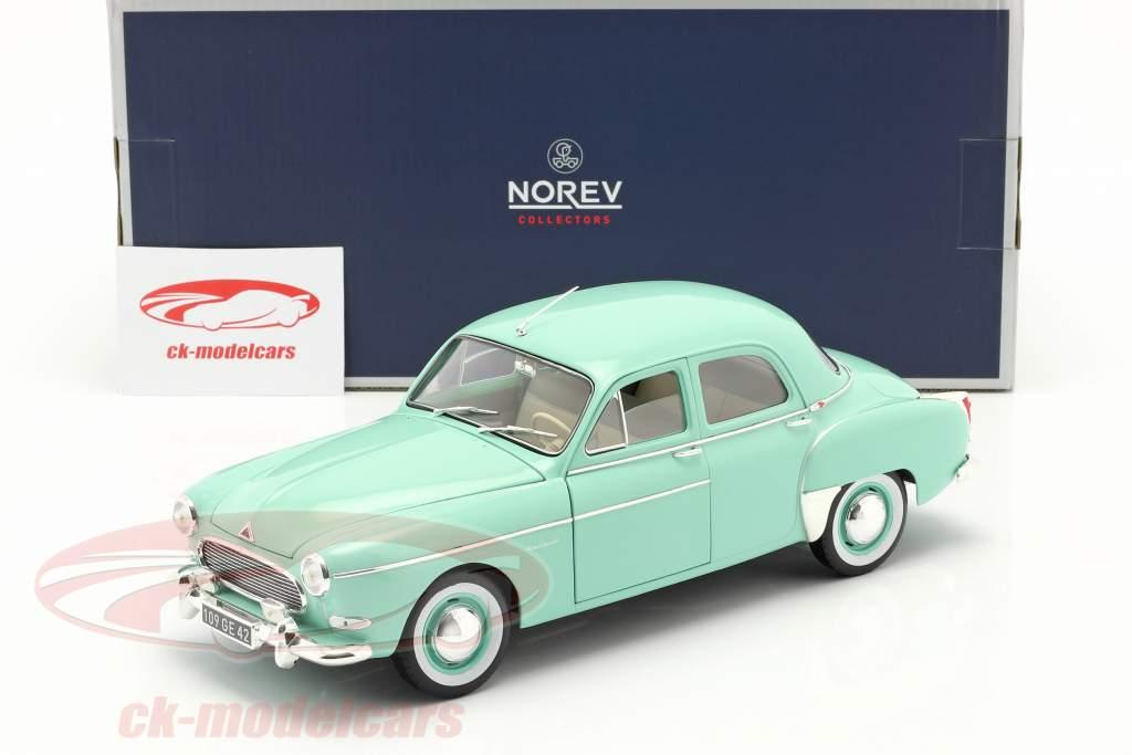 Renault Fregate Ano de construção 1959 Erin verde 1:18 Norev