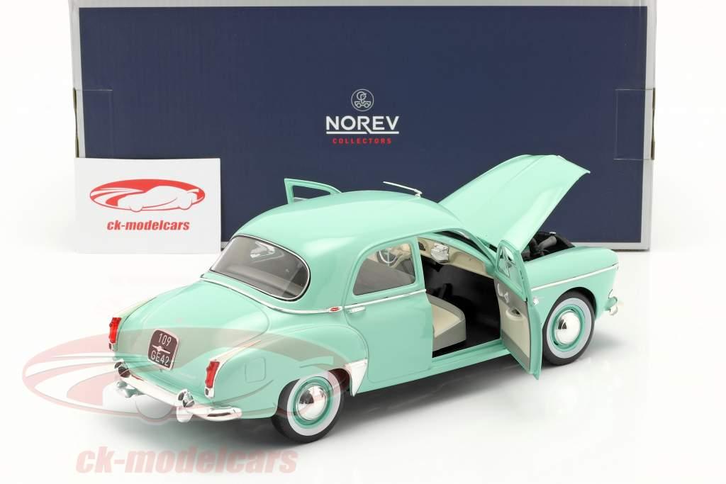 Renault Fregate bouwjaar 1959 erin groen 1:18 Norev