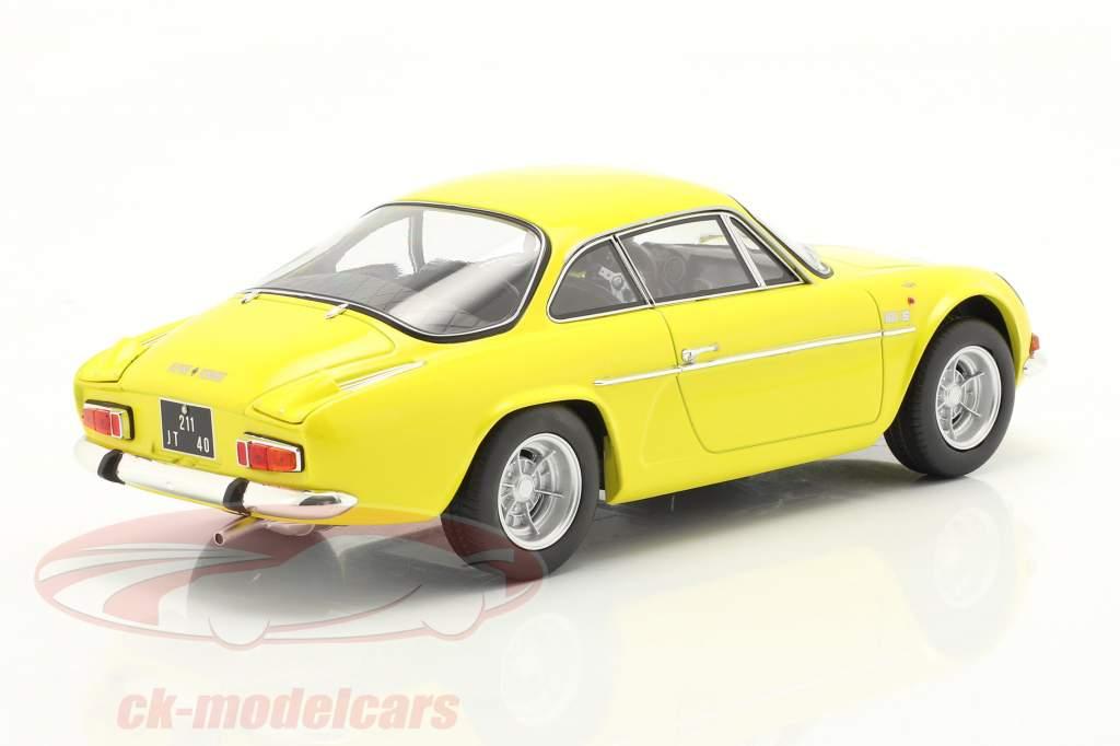 Alpine A110 1600S Baujahr 1971 gelb 1:18 Norev