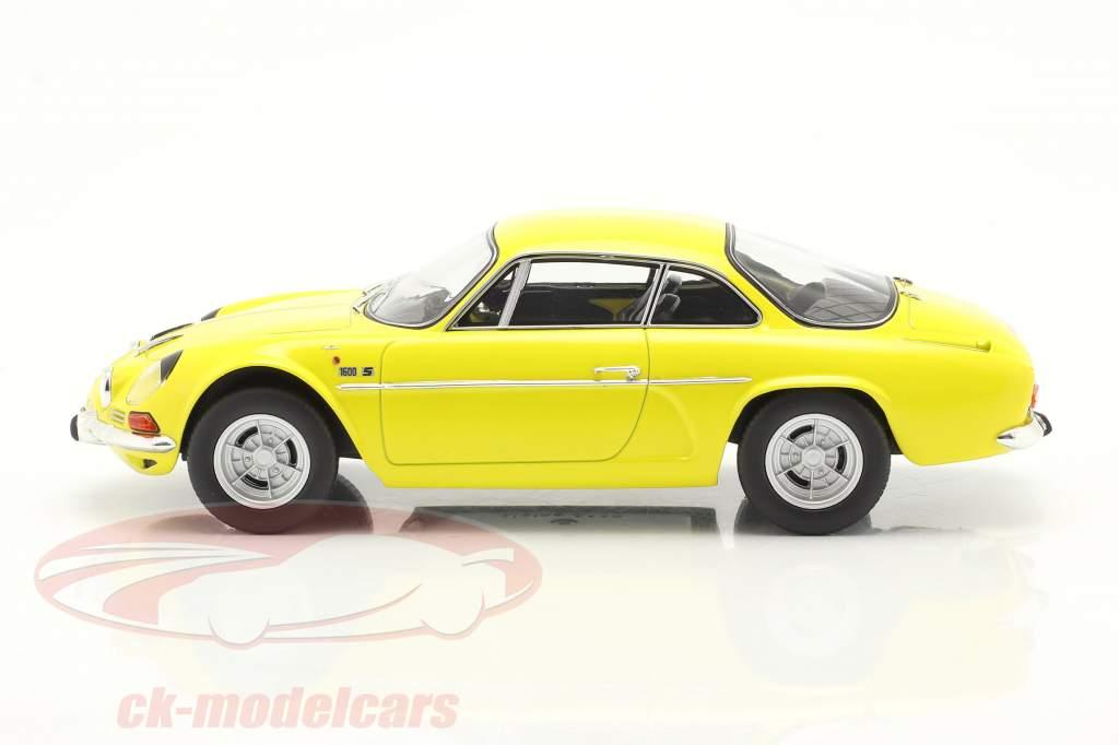 Alpine A110 1600S Anno di costruzione 1971 giallo 1:18 Norev