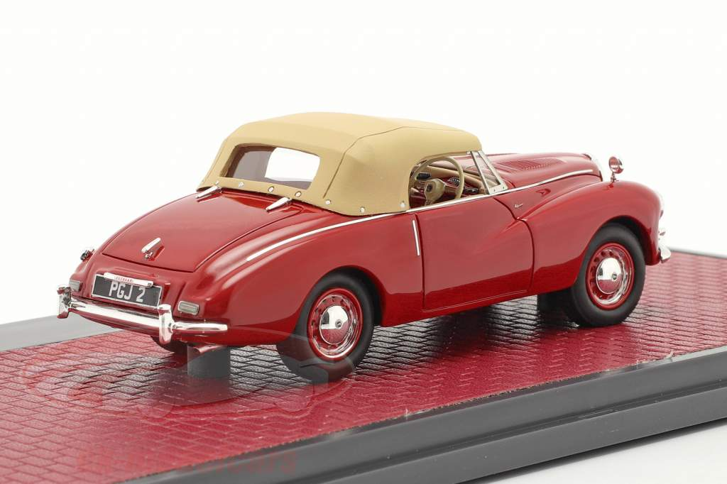 Sunbeam Alpine Closed Top Baujahr 1953-1955 rot 1:43 Matrix