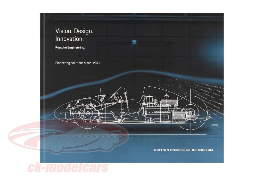 Livre: Porsche Engineering: Vision - Design - Innovation (Anglais)