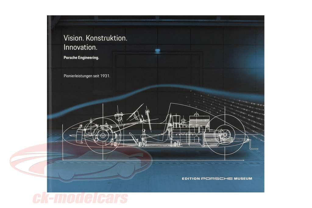 Boek: Porsche Engineering: Vision - Konstruktion - Innovation (Duitse)