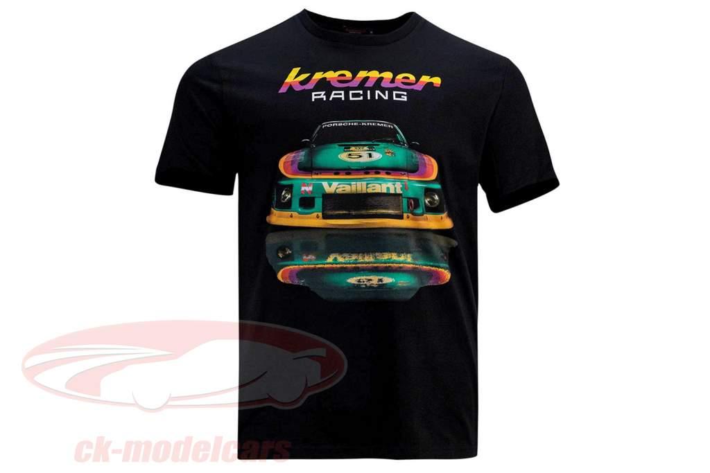 T-shirt Kremer Racing Porsche 935 K2 sort