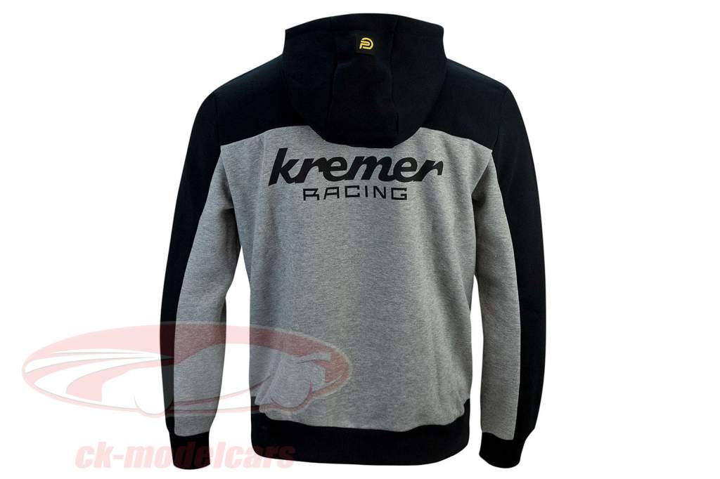 Kapuzenpullover Kremer Racing Team Vaillant grau / schwarz