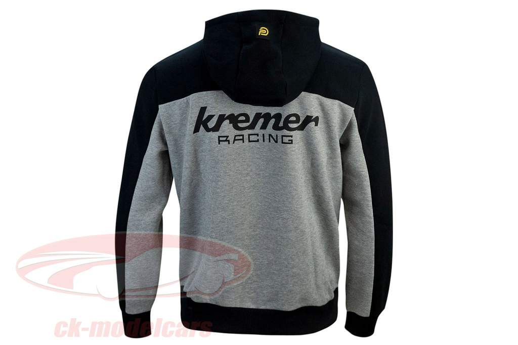 Moletom com capuz Kremer Racing Team Vaillant cinza / Preto