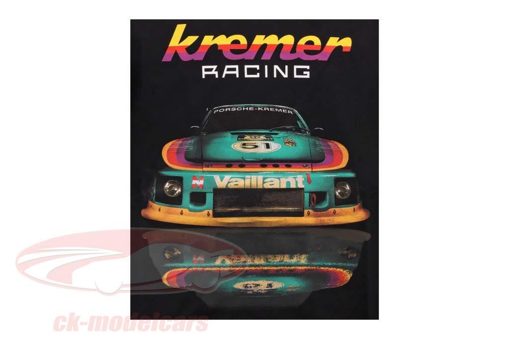 T-shirt Kremer Racing Porsche 935 K2 zwart