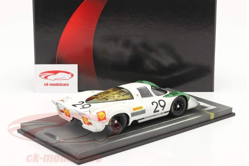 Porsche 917/69 #29 vencedora 1000km Zeltweg 1969 Siffert, Ahrens Jr. 1:18 BBR