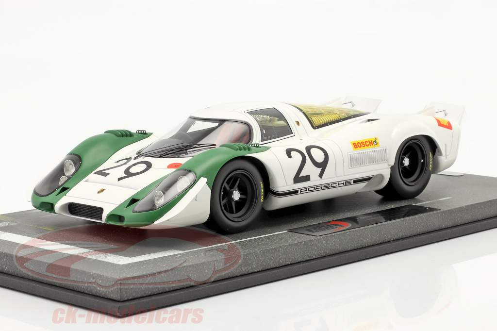 Porsche 917/69 #29 winnaar 1000km Zeltweg 1969 Siffert, Ahrens Jr. 1:18 BBR