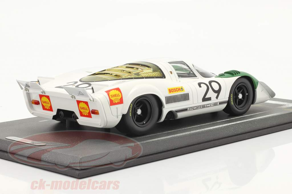 Porsche 917/69 #29 ganador 1000km Zeltweg 1969 Siffert, Ahrens Jr. 1:18 BBR