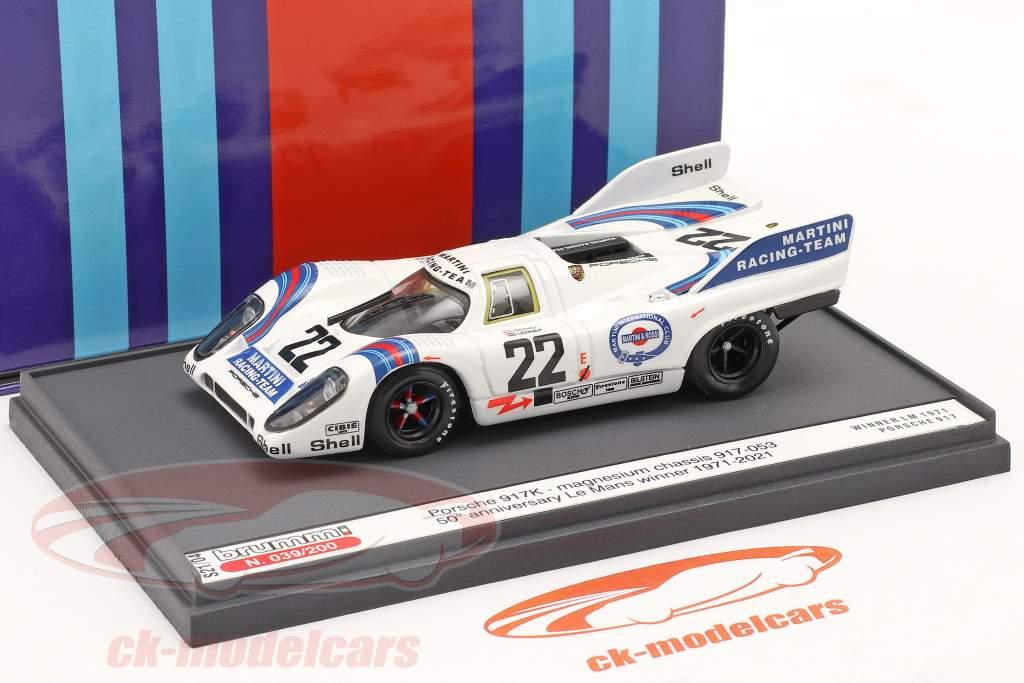 Porsche 917K #22 Vincitore 24h LeMans 1971 50esimo Anniversario 1:43 Brumm