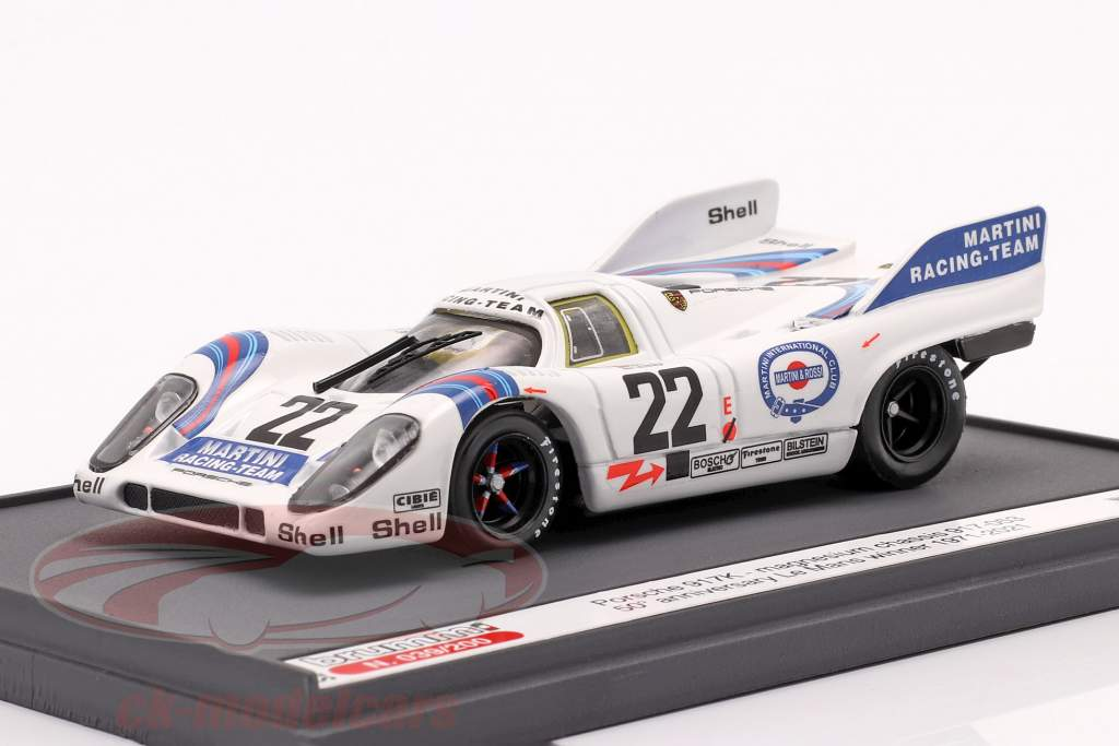 Porsche 917K #22 Vinder 24h LeMans 1971 50. Jubilæum 1:43 Brumm