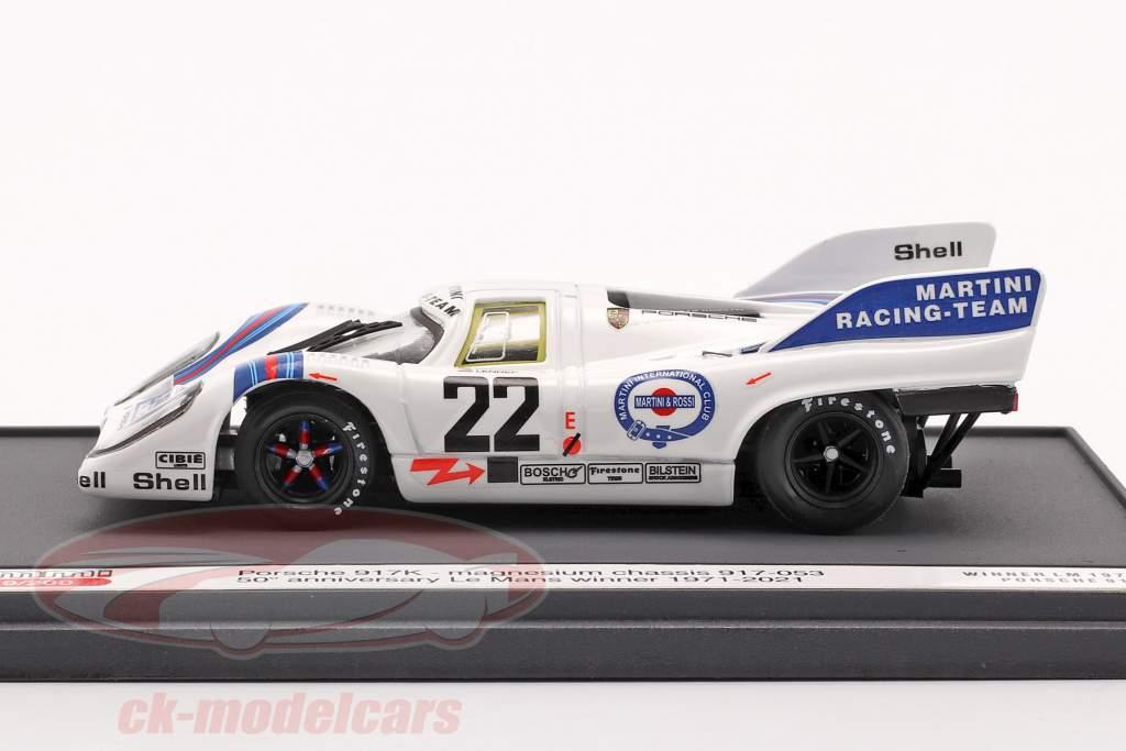 Porsche 917K #22 Vencedora 24h LeMans 1971 50º Aniversário 1:43 Brumm