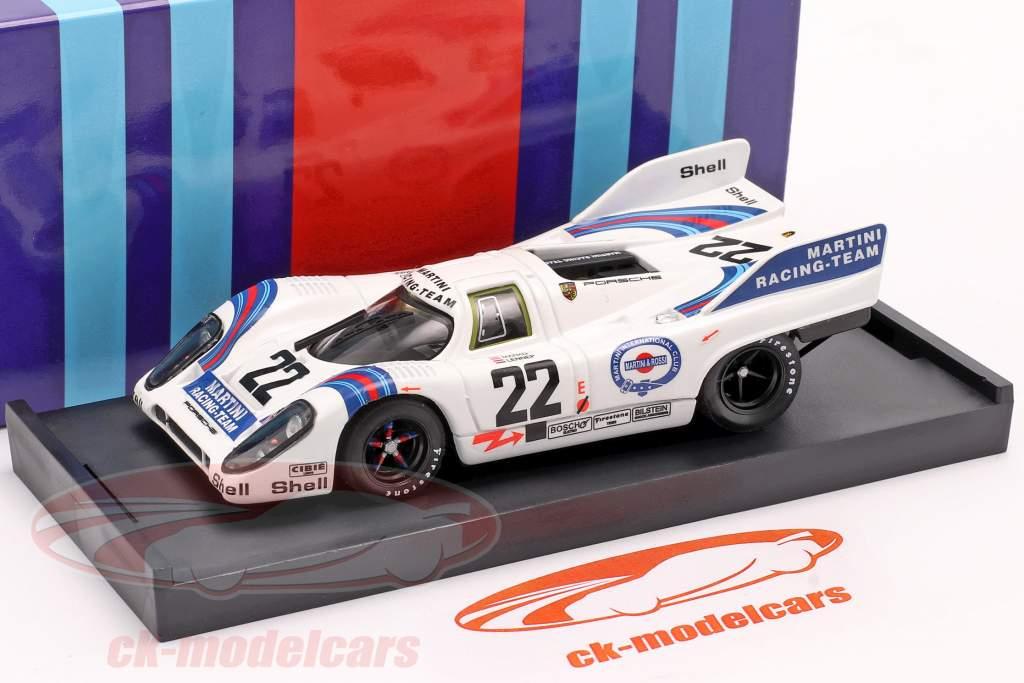 Porsche 917K #22 Winnaar 24h LeMans 1971 Marko / van Lennep 1:43 Brumm