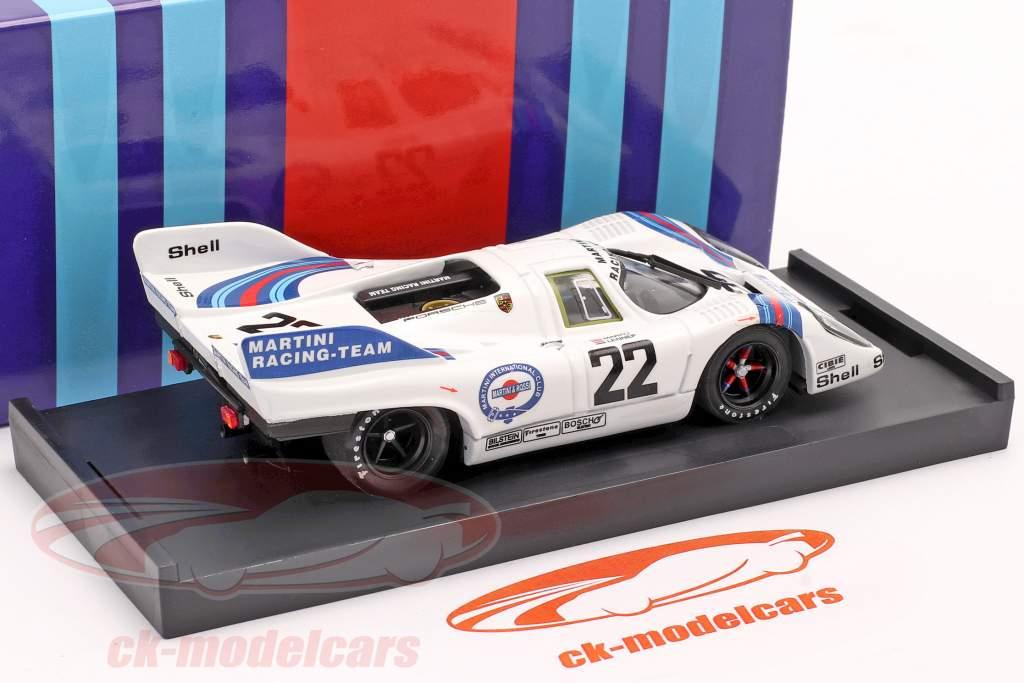 Porsche 917K #22 Ganador 24h Le Mans 1971 Marko / van Lennep 1:43 Brumm