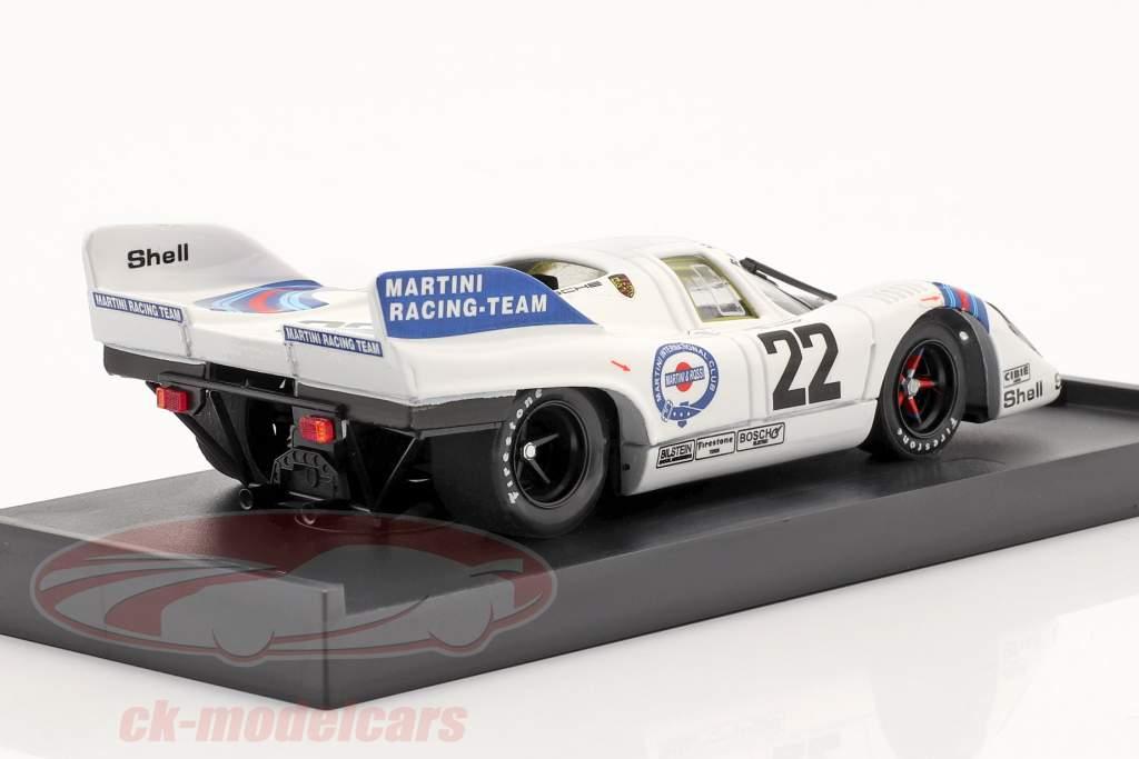 Porsche 917K #22 Vencedor 24 horas de Le Mans 1971 Marko / van Lennep 1:43 Brumm