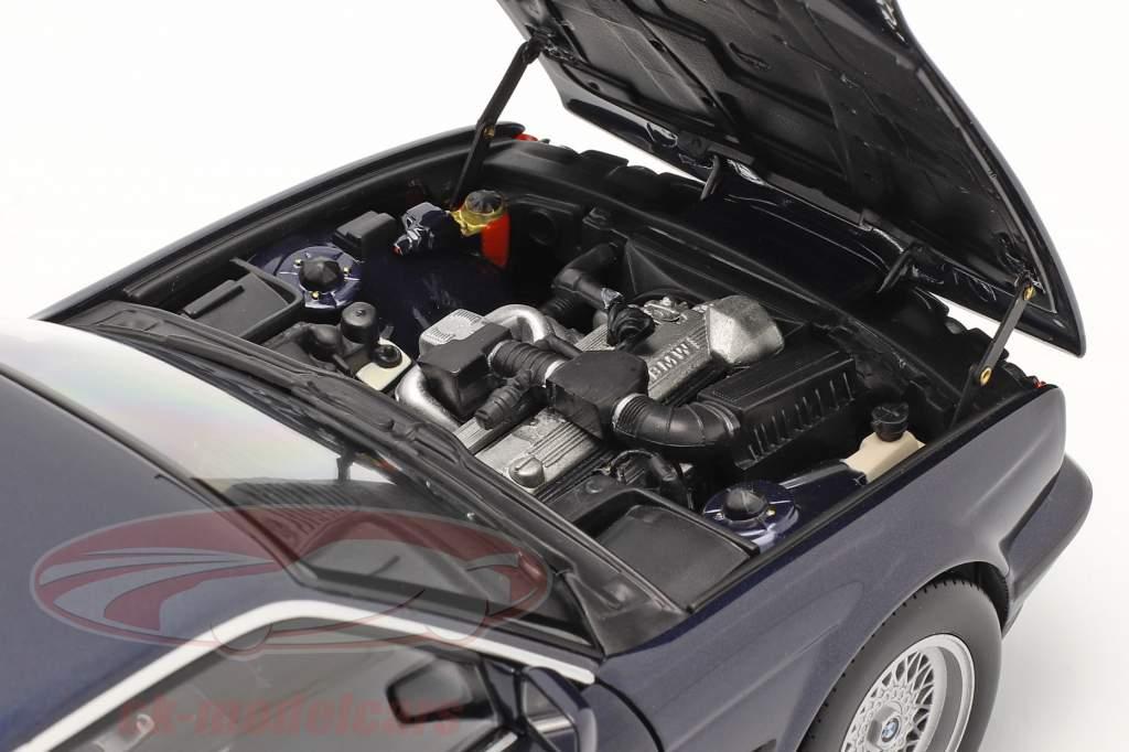 BMW 535i (E34) Baujahr 1988 blau metallic 1:18 Minichamps