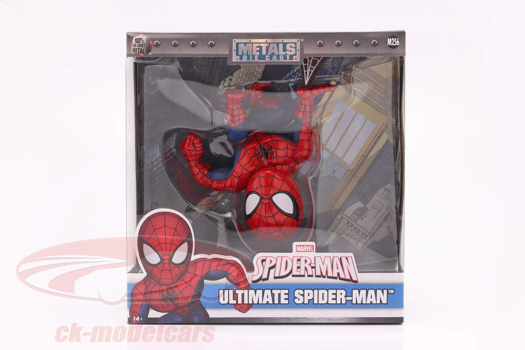Ultimate Spider-Man Marvel 6 inch figura rojo / azul Jada Toys