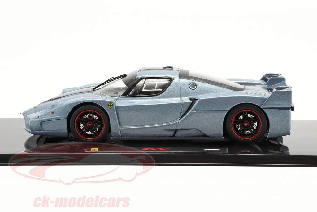 Ferrari FXX blauw 1:43 HotWheels Elite