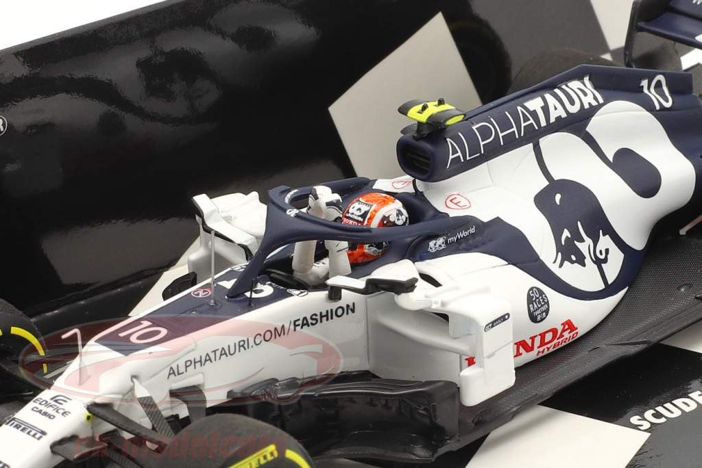 P. Gasly Alpha Tauri AT01 #10 победитель Итальянский GP формула 1 2020 1:43 Minichamps