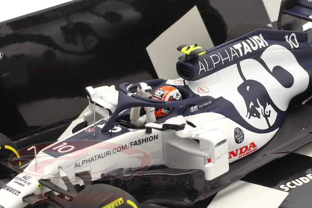 P. Gasly Alpha Tauri AT01 #10 Winner Italian GP formula 1 2020 1:43 Minichamps