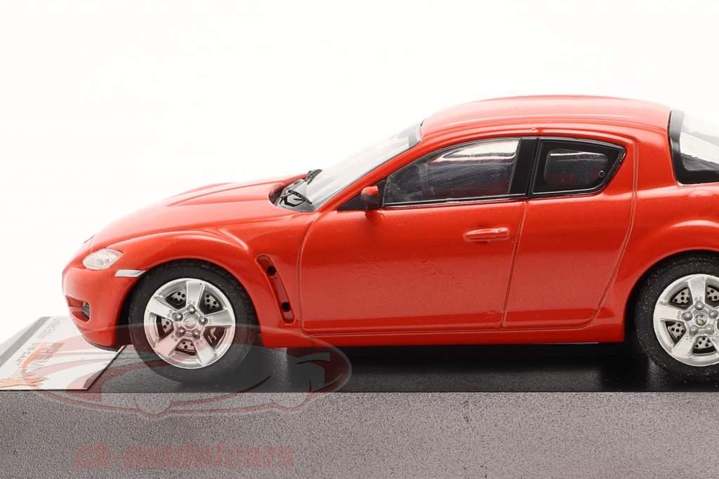 Mazda RX-8 jaar 2003 rood 1:43 Premium X / 2. keuze