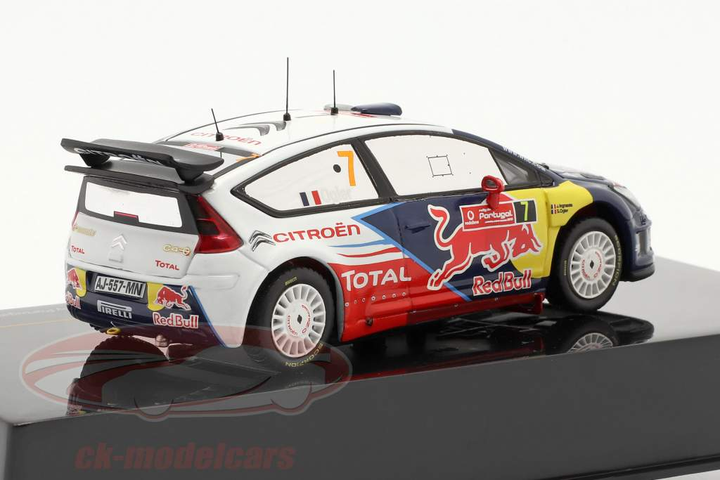 Citroen C4 WRC n º 7 Ogier Ingrassia Vencedor do Rally de Portugal 2010 1:43 Ixo