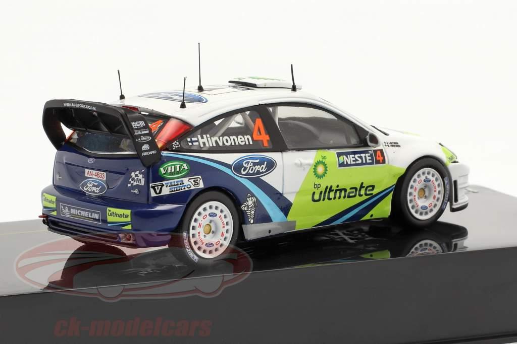 Ford Focus WRC #4  Rally di Finlandia  2005 1:43 Ixo