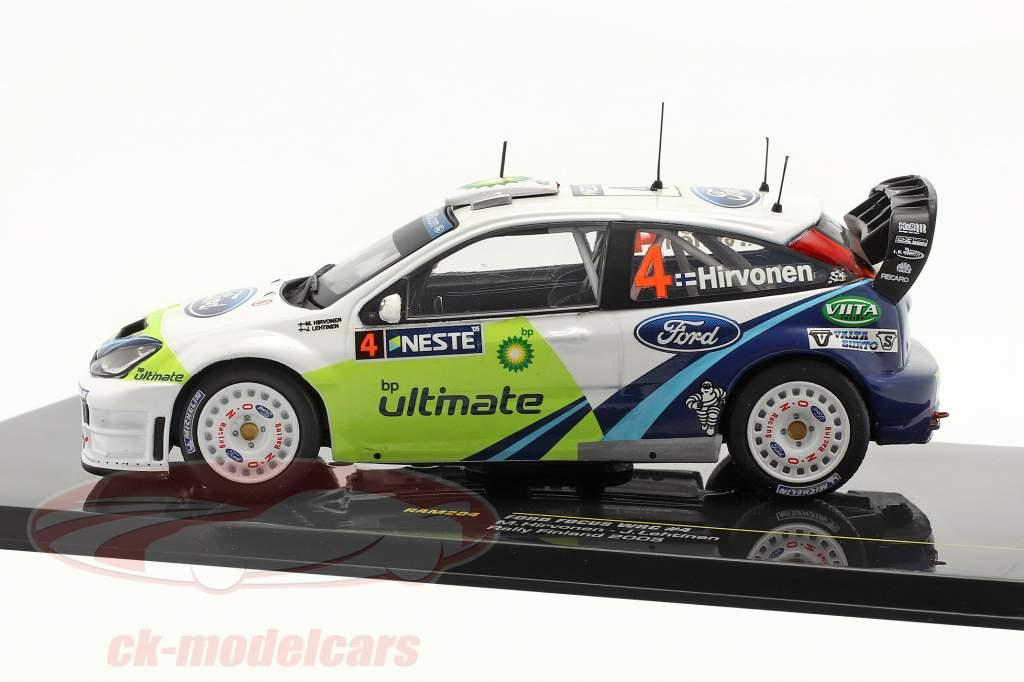 Ford Focus WRC #4 Rallye de Finlande 2005 1:43 Ixo