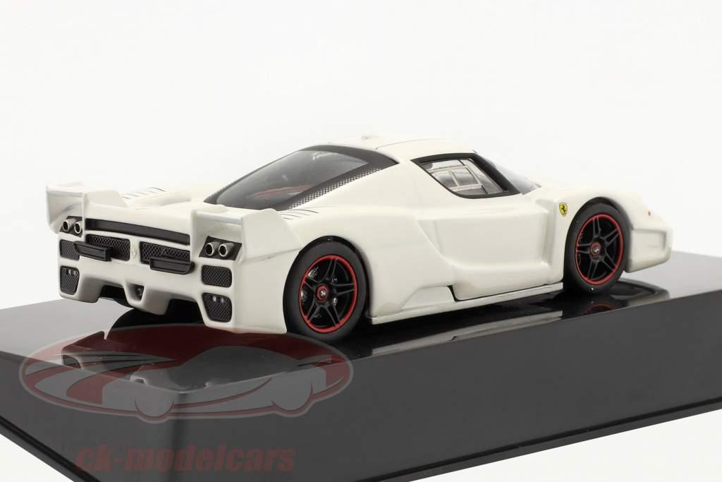 Ferrari FXX branco 1:43 HotWheels Elite