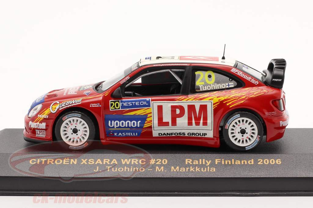 Citroen Xsara WRC #20 Rally di Finlandia 2006 1:43 Ixo