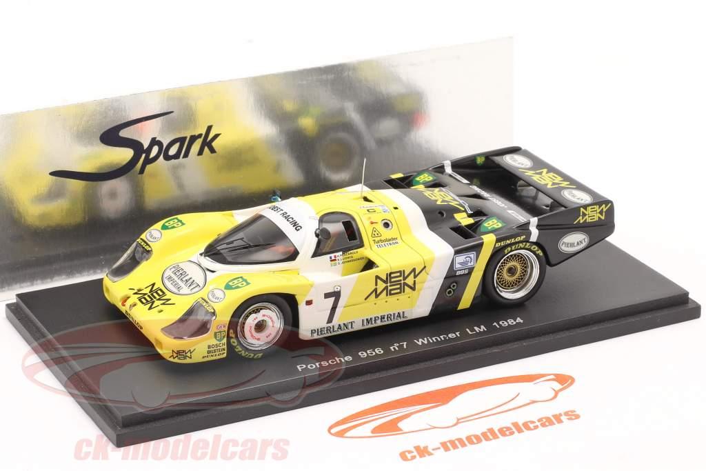 Porsche 956 #7 Ganador 24h LeMans 1984 Ludwig / Pescarolo 1:43 Spark