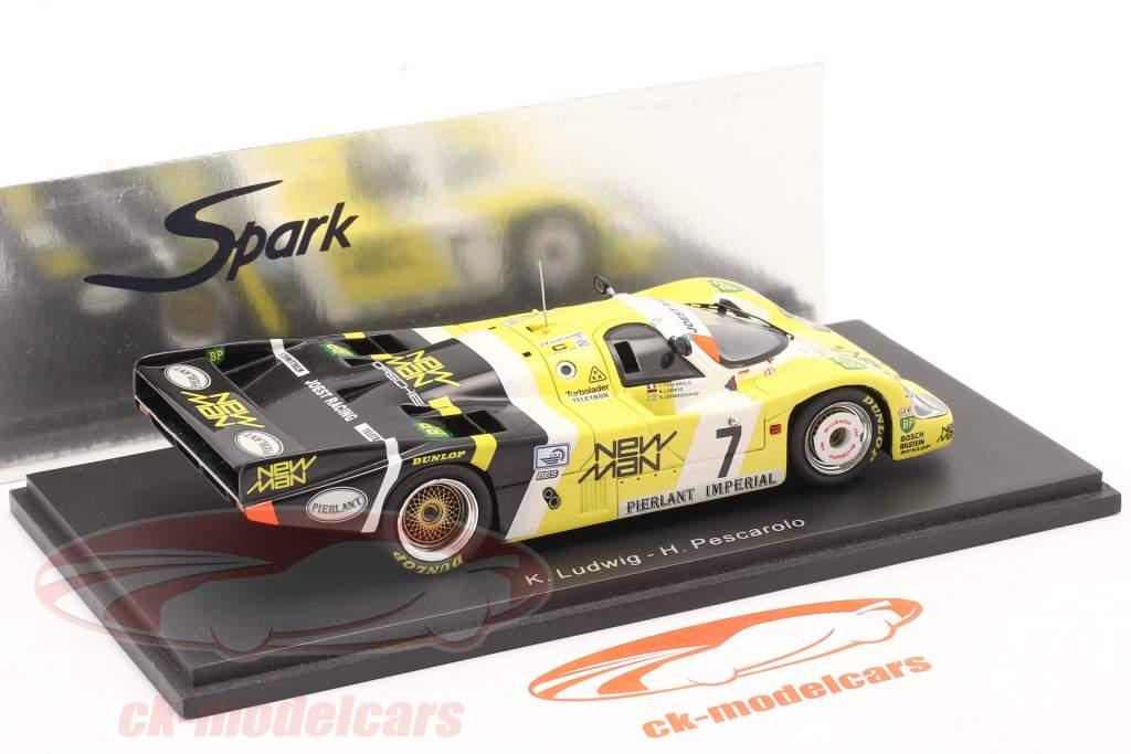 Porsche 956 N° 7 Winner 24h LeMans 1984 Ludwig / Pescarolo Spark 1:43