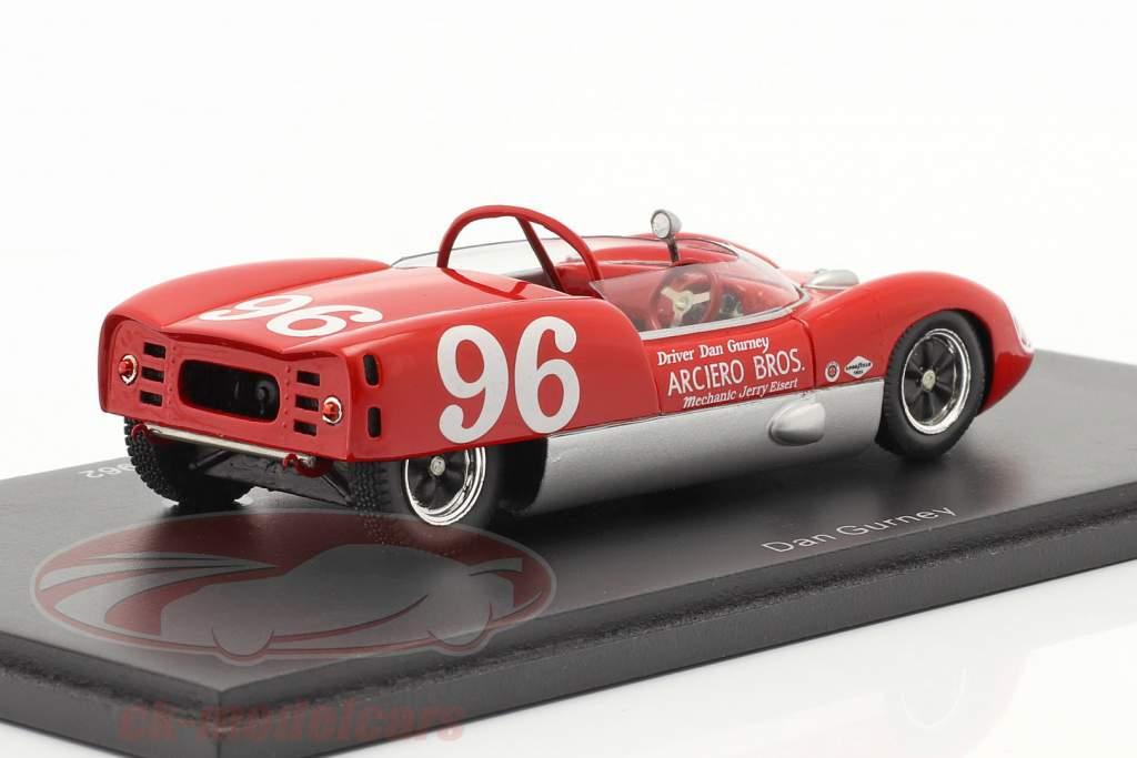 Lotus 19 #96 Vencedor 24h Daytona 1962 D. Gurney 1:43 Spark