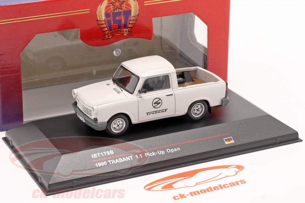 Trabant 1.1 Pick-Up Baujahr 1990 hellgrau 1:43 IST-Models