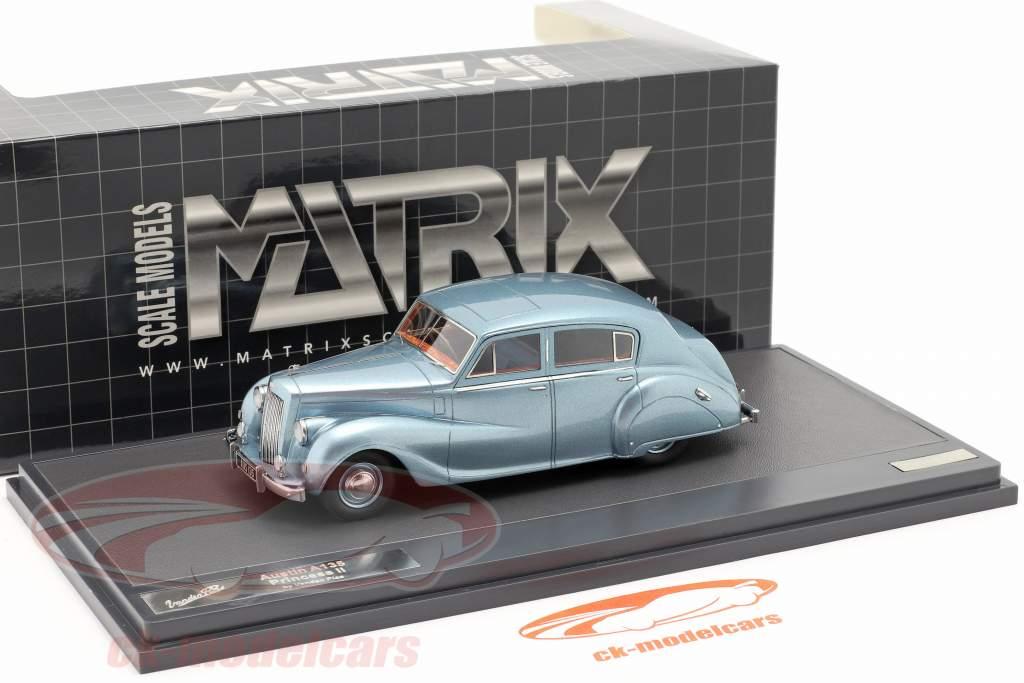 Austin A135 Princess II Année 1950 bleu métallique 1:43 Matrix